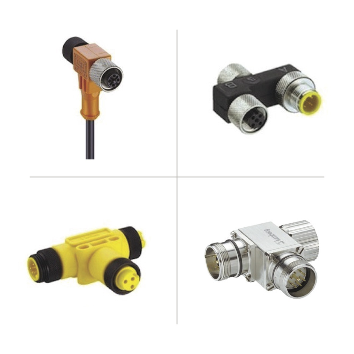 Lumberg Automation T-connectors & Adapters