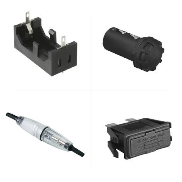 BATTERY & FUSEHOLDERS