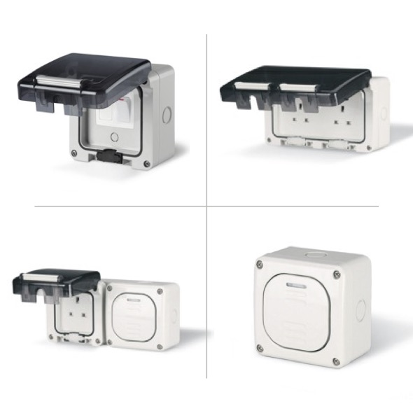 Scame Protecta Weatherproof Switches & Sockets