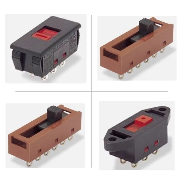 Arcolectric Slide Switches