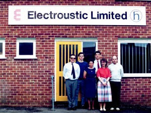 Electroustic Andover office in the 1990's