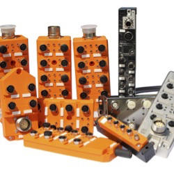 Automation Technology, I/O Modules, Actuator/Sensor Distribution Boxes