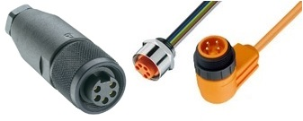 "7/8"" Circular Connectors manufactured by Lumberg Automation"